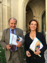 Jacques Archimbaud et Chantal Jouanno